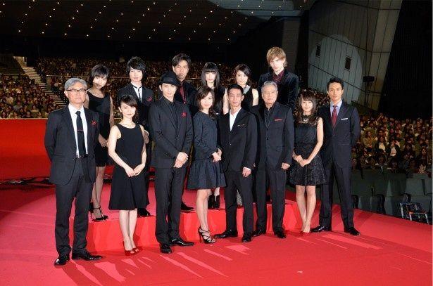 「劇場版SPEC〜結〜漸ノ篇」の舞台挨拶より