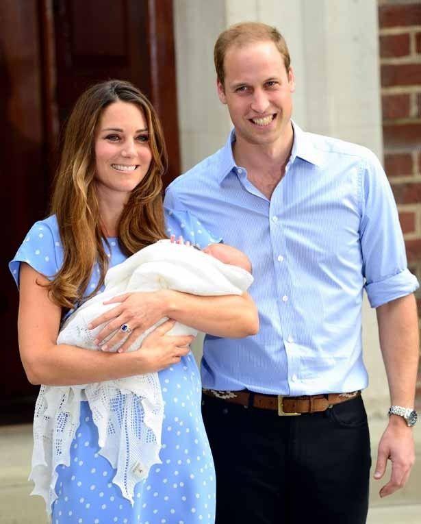 ウィリアム王子とキャサリン妃の間に誕生したジョージ王子の洗礼式が非公開で行われた