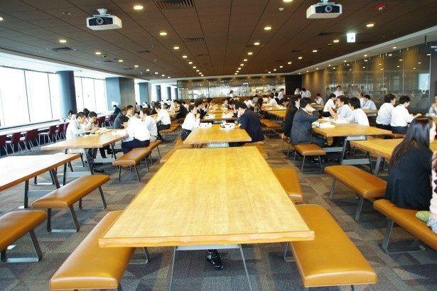 ドラマ「半沢直樹」に何度も登場した社員食堂は本当にすごい!