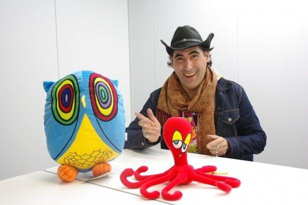 ニューヨークを代表するアメリカンポップアーティストが被災地の子供たちを応援しに来日