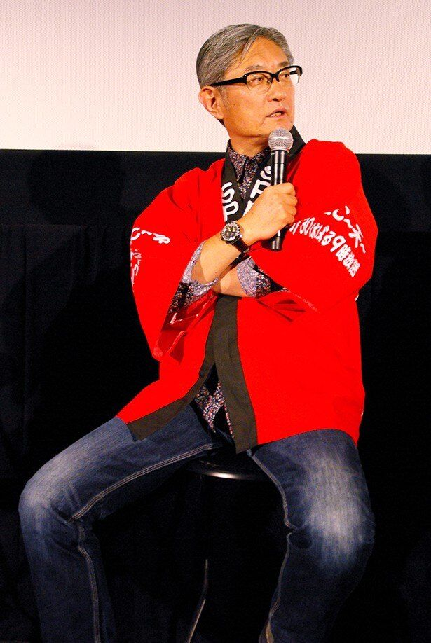 この日の時点でも制作中の『劇場版SPEC~結~爻ノ篇』について「絶対間に合わせます!」と宣言する堤監督