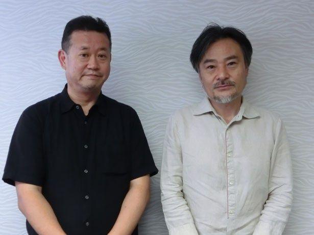 『リアル~』のVFXシーンを担当した浅野秀二氏(写真左)と黒沢清監督(写真右)