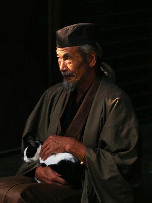 田中泯が演じる翁