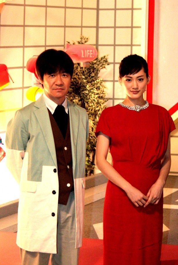 綾瀬はるか、大野智が「LIFE!」で内村光良とコントで共演!