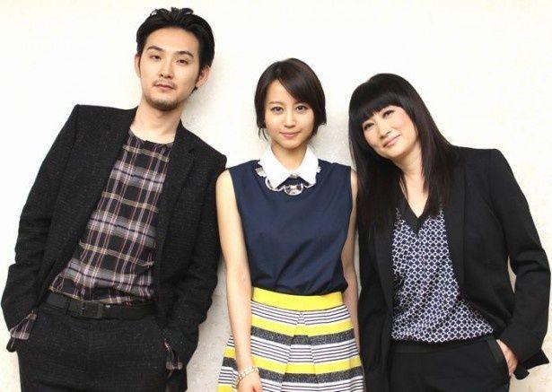 堀北真希、松田龍平、余貴美子。豪華キャストがそろってインタビューに登場!