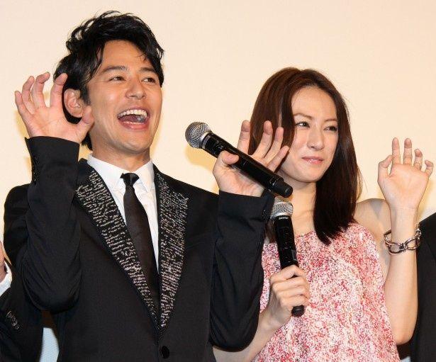 『ジャッジ!』プレミア試写会に妻夫木聡と北川景子が登場!