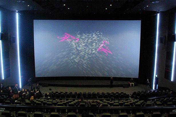 「ULTIRA」「ドルビーアトモス」が導入されている8番スクリーン