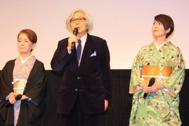 松たか子や倍賞千恵子と歌舞伎座の花道を歩いた山田洋次監督