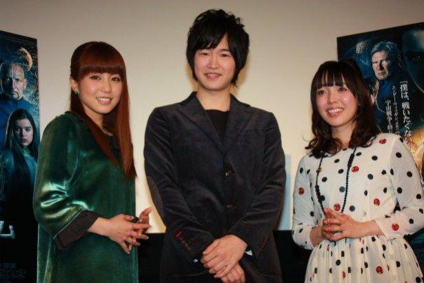 『エンダーのゲーム』の声優を務めた逢坂良太、佐藤聡美、白石涼子