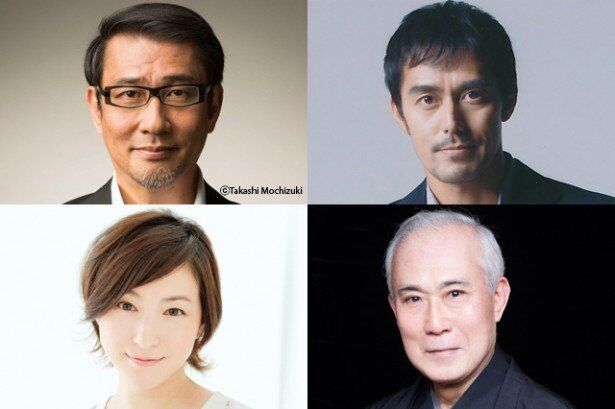 中井貴一、阿部寛、広末涼子、そして中村吉右衛門が出演!