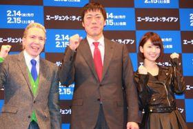 上原浩治選手、乃木坂46の橋本奈々未がデーブのダジャレに失笑