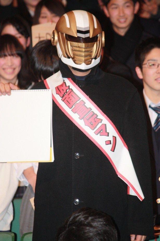『仮面ティーチャー』のイベントでファンが大熱狂!