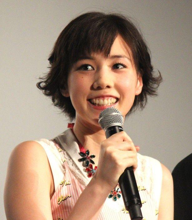 『土竜の唄 潜入捜査官 REIJI』の初日舞台挨拶が開催!仲里依紗も笑顔