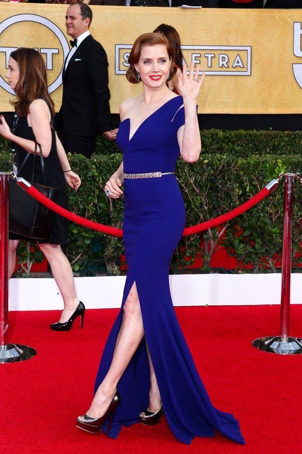 『アメリカン・ハッスル』で主演女優賞にノミネートされているエイミー・アダムス