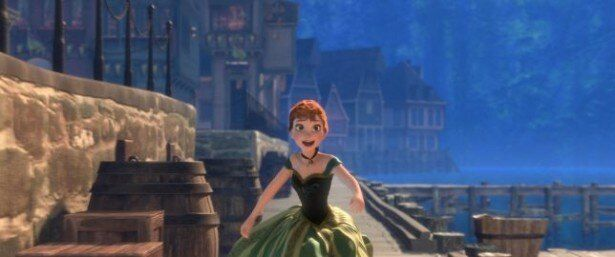 アンデルセン童話の「雪の女王」をモチーフに、触れるものを凍らせる力を持った姉エルサと、彼女を救おうとする妹アナ(写真)との愛を描く