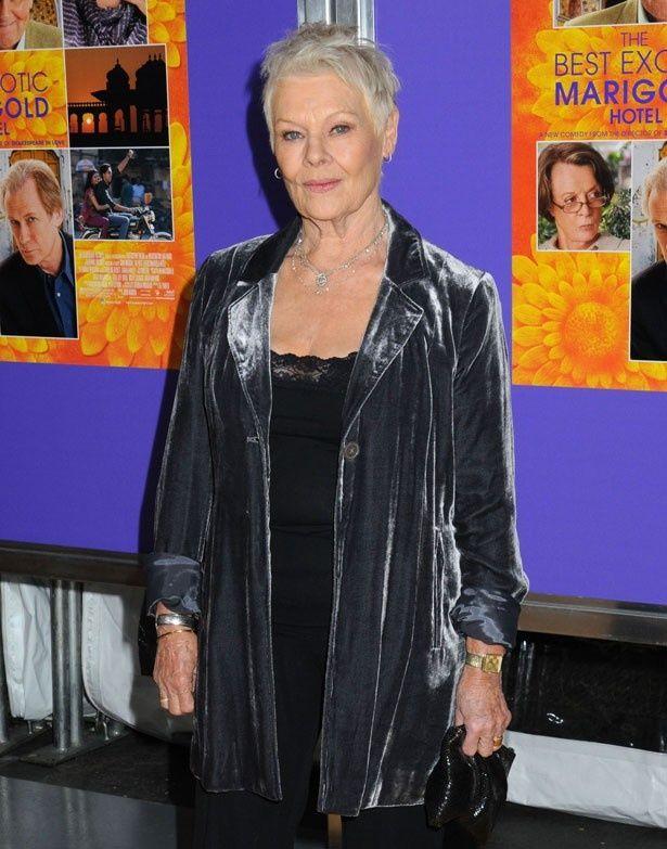 ジュディは『マリーゴールド・ホテルで会いましょう』の続編を撮影中!