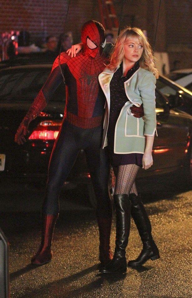 【写真を見る】『アメイジング・スパイダーマン』シリーズで恋人同士のふたりは、私生活でも交際中