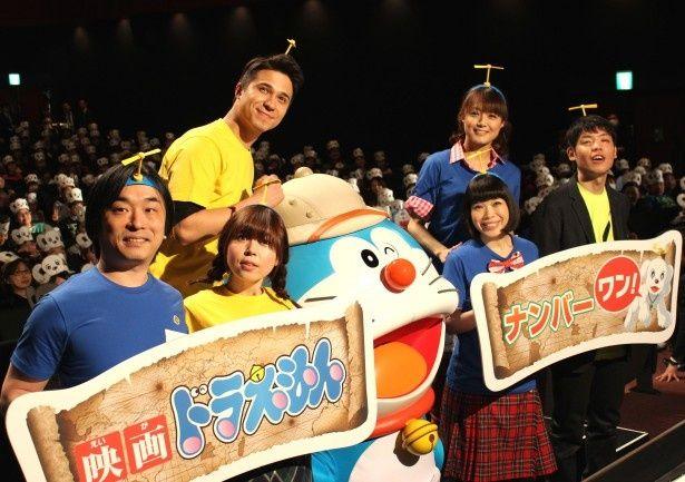 『ドラえもん 新・のび太の大魔境 ペコと5人の探検隊』の初日舞台挨拶が開催!