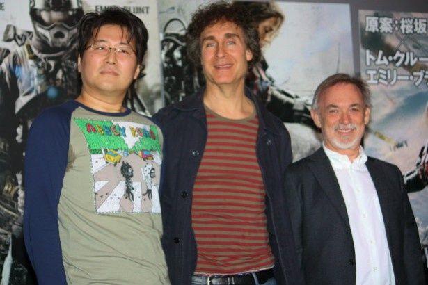 トム・クルーズの主演映画『オール・ユー・ニード・イズ・キル』のプレゼンテーションが開催