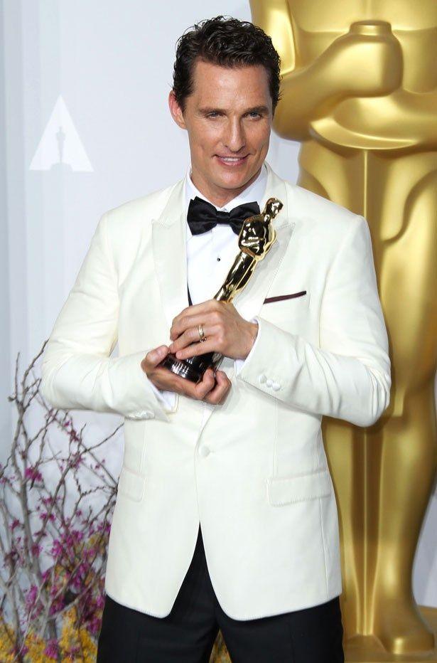 オスカーを受賞した今年、エミー賞獲得の可能性も出てきたマシュー!