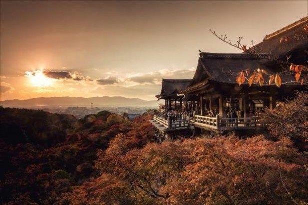 3年連続で1位にランクインした京都の清水寺(清水の舞台)