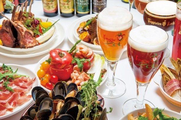 ベルギービール専門店「ビアカフェ ブルッグスゾット」