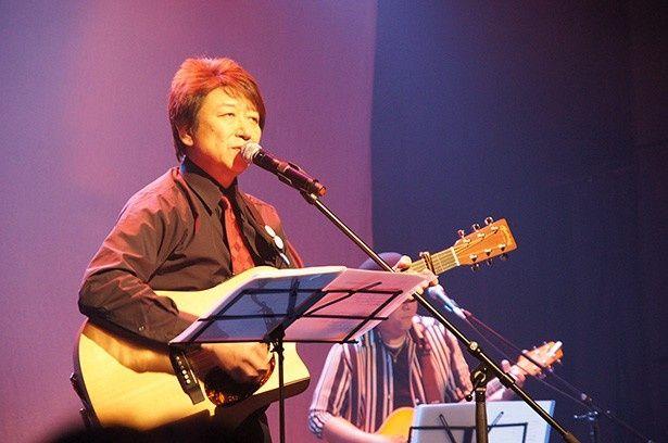 芸歴40年以上を数える人気声優の井上和彦が、還暦を迎える3月26日を前に都内でライブを開催!