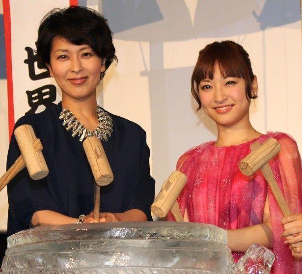 ディズニー史上初のダブルヒロイン!日本語吹替え版を務めた松たか子、神田沙也加が喜びを語った