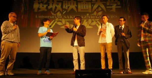 上映後も一同のトークは白熱!