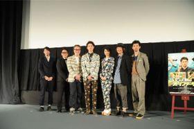 岡田将生を囲む『オー!ファーザー』チームはまさにファミリー的チームワーク!