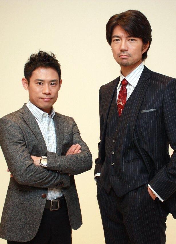 『チーム・バチスタ』の名コンビ、伊藤淳史と仲村トオル