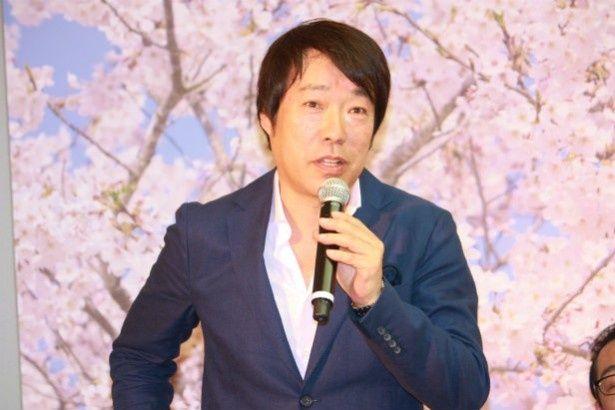 メガホンを握った田中光敏監督