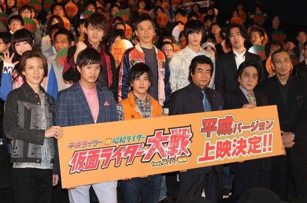 平成ライダー対昭和ライダー、ファン投票の結果が発表!