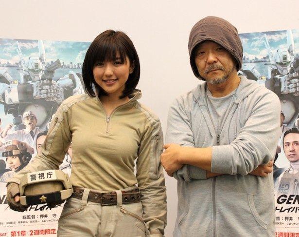 押井守総監督と真野恵里菜を直撃!実写化プロジェクトに迫る