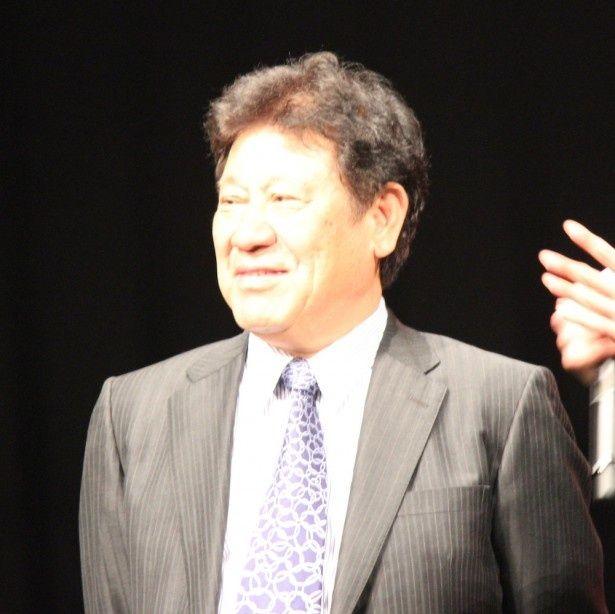 山本又一朗プロデューサーも晴れやかな笑顔