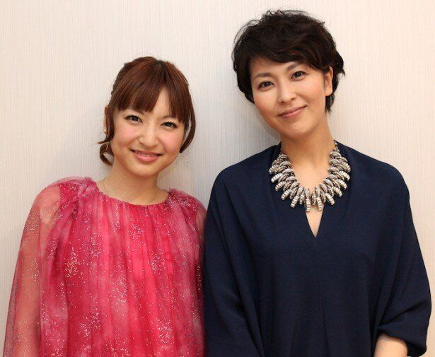 """神田沙也加と松たか子の""""姉妹""""対談、スタート!"""