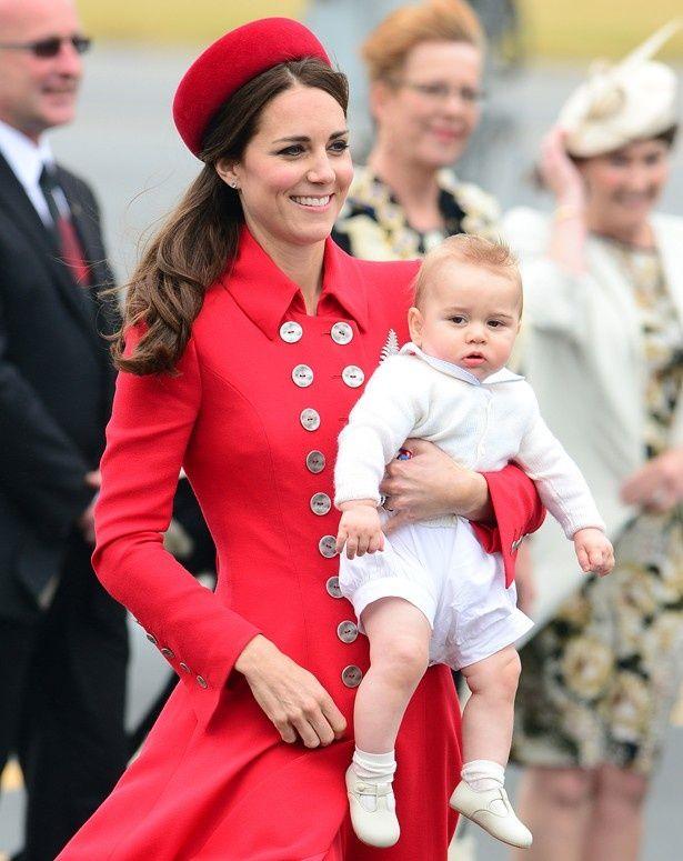 ニュージーランドを訪れたキャサリン妃。ジョージ王子にとっては初の公式外遊!