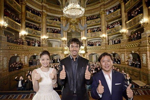 世界遺産・カゼルタ王宮の宮廷劇場で開催された『テルマエ・ロマエII』のワールドプレミア