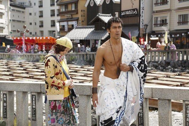 今回も現代日本と古代ローマを行き来するルシウス(阿部寛)と真実(上戸彩)