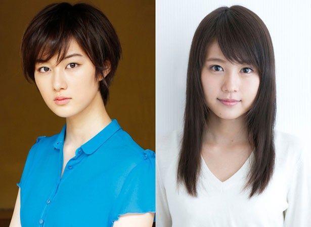 Wヒロインを務める杏奈役の高月彩良(左)と、マーニー役の有村架純(右)