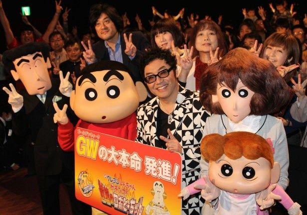 劇場版第22弾『映画クレヨンしんちゃん ガチンコ!逆襲のロボとーちゃん』が公開!