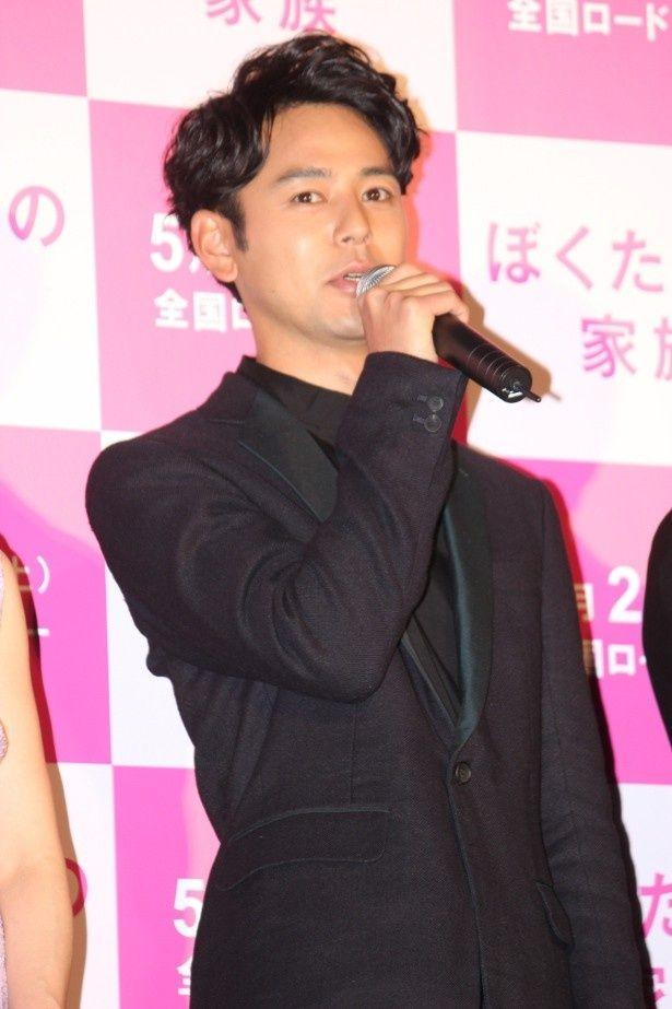 石井裕也監督作『ぼくたちの家族』に主演した妻夫木聡