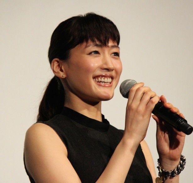 綾瀬はるかが語る、初共演の松坂桃李の印象とは?