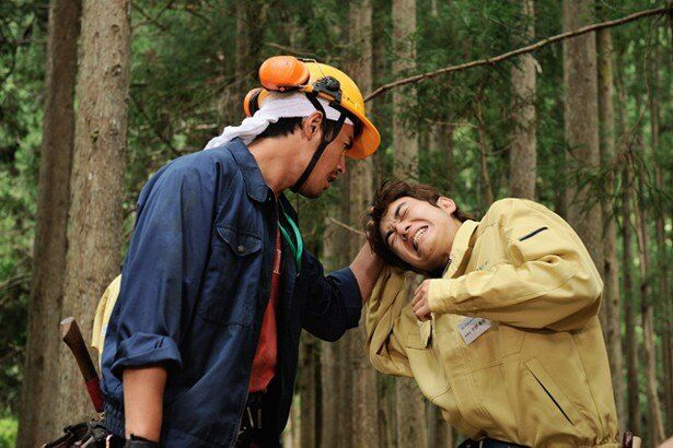 『WOOD JOB!(ウッジョブ) 神去なあなあ日常』でダメダメな青年を演じた染谷将太