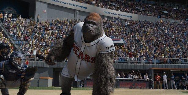 世界初の野球ゴリラの活躍を描く『ミスターGO!』
