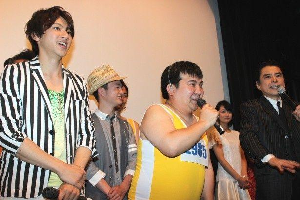 『ライヴ』の舞台挨拶で志垣太郎が山田裕貴らに演技指導