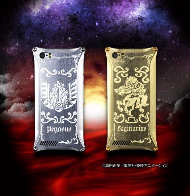ゴールドとシルバーを基調とした聖闘士星矢のiPhoneカバー2種類が発表