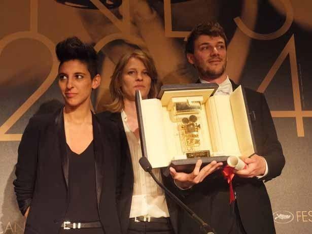 カメラドール受賞者のMarie Amachoukeli,Claire Burger,Samuel Theis