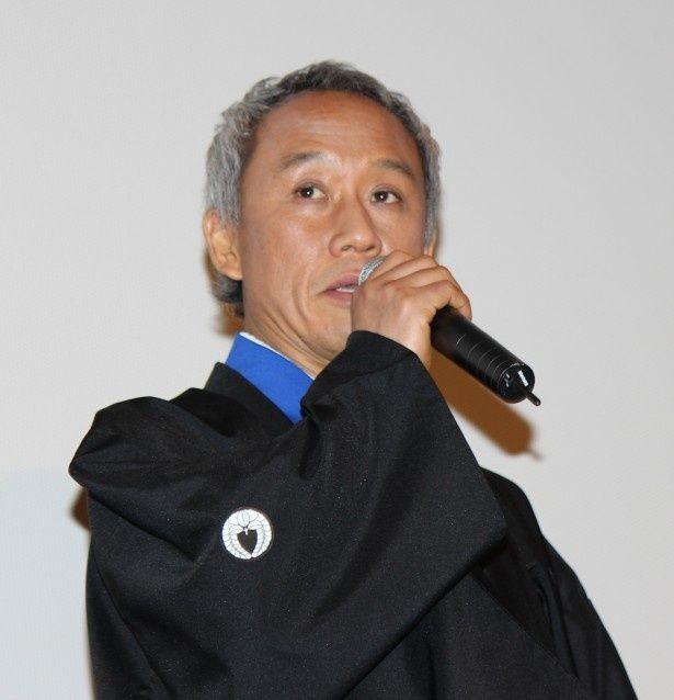 相馬兼嗣役を演じる西村雅彦