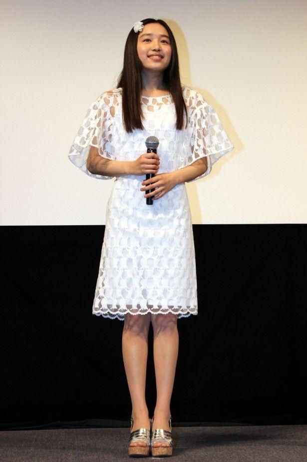 映画初主演の青山三郷